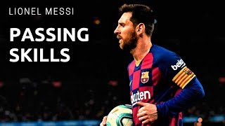 Lionel Messi - The Art of Passing - HD