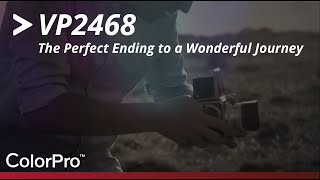 viewSonic VP2468 - The Perfect Ending to a Wonderful Journey