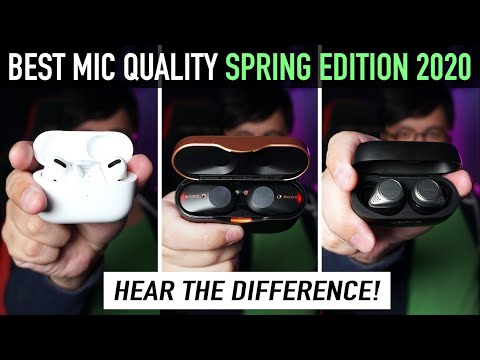 BEST Phone Call Quality Earbuds Spring Edition 2020 (With Latest Firmware!)