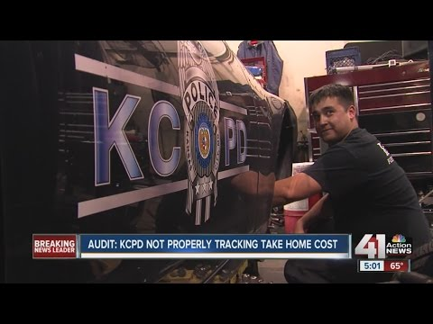 Audit: Kansas City Police Department not tracking take-home costs