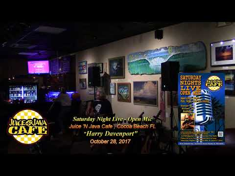 Harry Davenport @ Juice 'N Java Cafe Open Mic  10.28.17