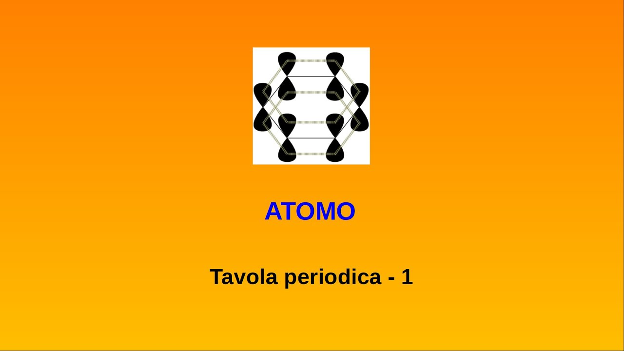 Lezioni di chimica atomo 10 tavola periodica youtube - Tavola periodica per bambini ...