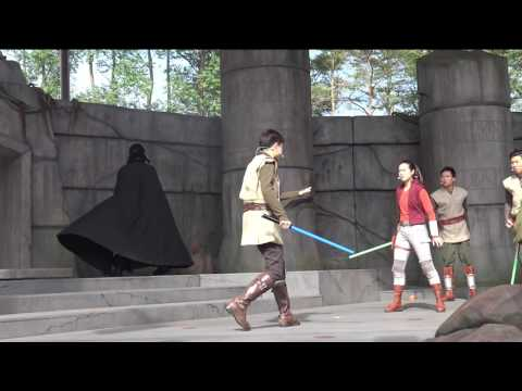 Jedi Training: Trials of the Temple! Hong Kong Disneyland!
