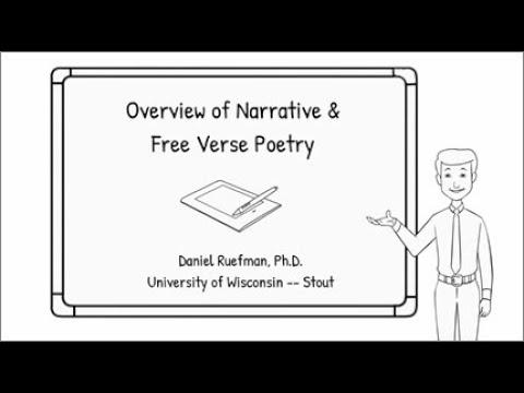 Narrative & Free-Verse Poetry