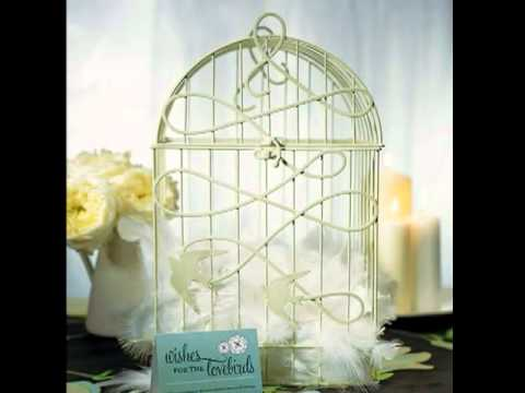 Love Bird Wedding Theme Ideas Wedding Reception Accessories Youtube