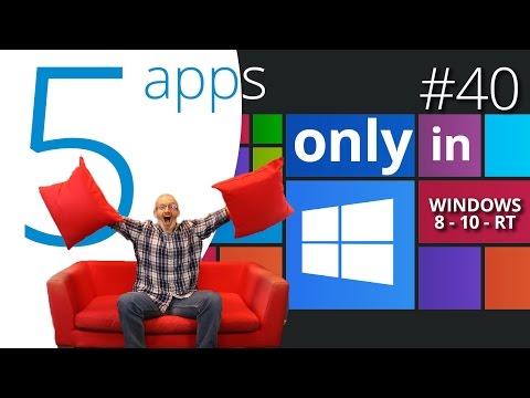 5 best Windows 10 exclusive apps