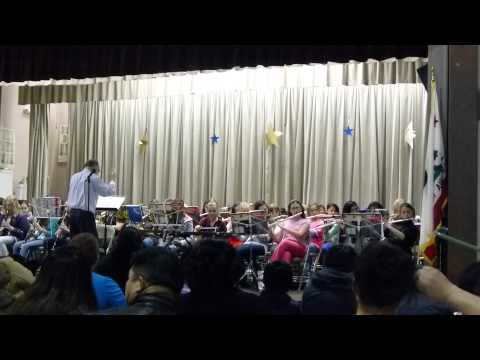 London Bridge by the Thomas Page Elementary School Band
