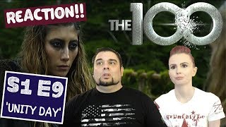 The 100 | S1 E9 'Unity Day' | Reaction | Review
