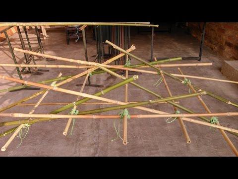 """Ponte scout o """"di Leonardo"""" a struttura autoportante - (Scoutismo, Froissartage)"""