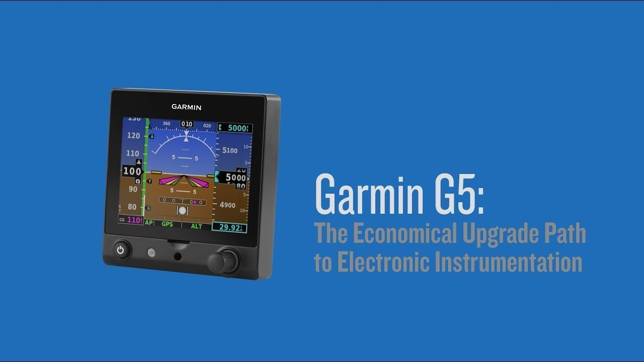 Garmin G5: The Economical Upgrade Path to Electronic Instrumentation