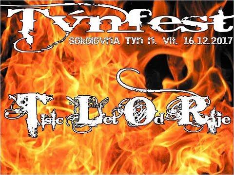 1000 Let Od Ráje at Týnfest, Sokolovna  Týn nad Vltavou, 16 12