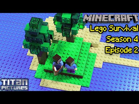 Lego Minecraft Survival - Season 4 - Episode 2
