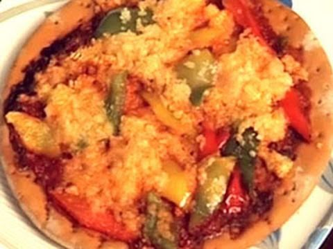 Pizza Recipe: Pepper & Baby Corn Pizza Recipe