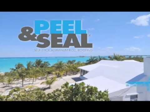 Peel Amp Seal Low Slope Roofing Membrane Youtube