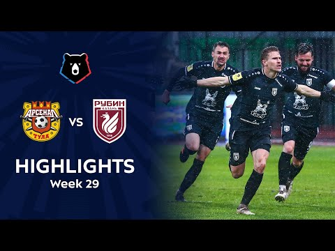 Arsenal Tula Rubin Kazan Goals And Highlights