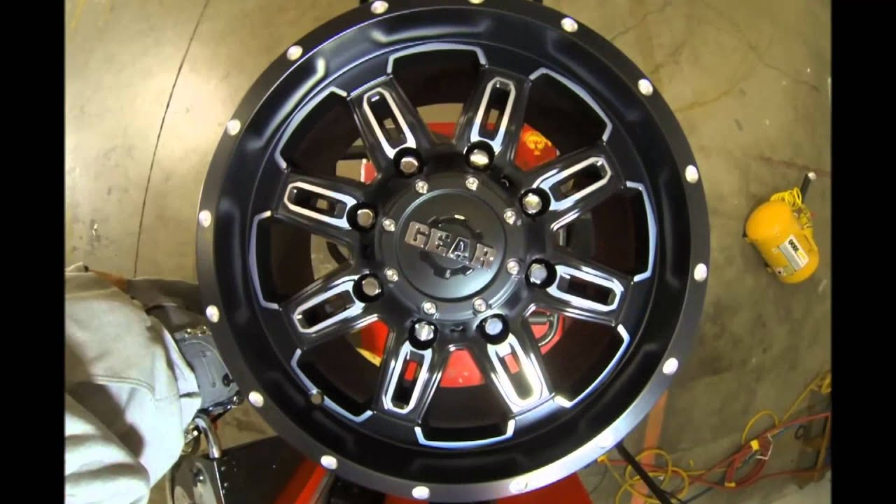 Rims And Tires Canada >> Gear Alloy Wheels 725 Dominator Black machined - YouTube