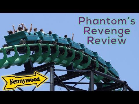 Phantoms Revenge (Kennywood) Review - Arrow/Morgan Terrain Hyper Coaster