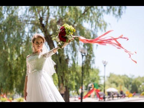 Соединяя сердца - яркая свадьба в красном цвете Маши и Богдана