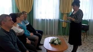 Лухские серебряные свадьбы – 2016 год – акт бракосочетания серебряных юбиляров