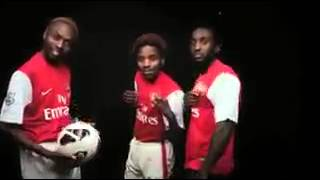 Funny Arsenal African hip hop song