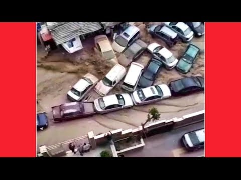 RAW FOOTAGE: FLOOD CHAOS IN JORDAN & SYRIA !!! MAY 2018 STRANGE END TIMES NEWS