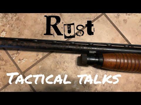 Rusty Shotgun Maintenance