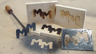 How To Make a Branding Iron - 2 Types!!