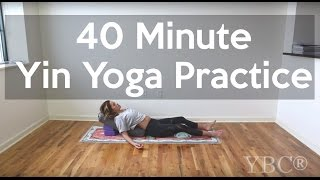 Relaxing Yin Yoga - 40 Minute Practice