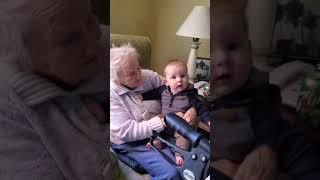 Meeting Great Grandma Fargo