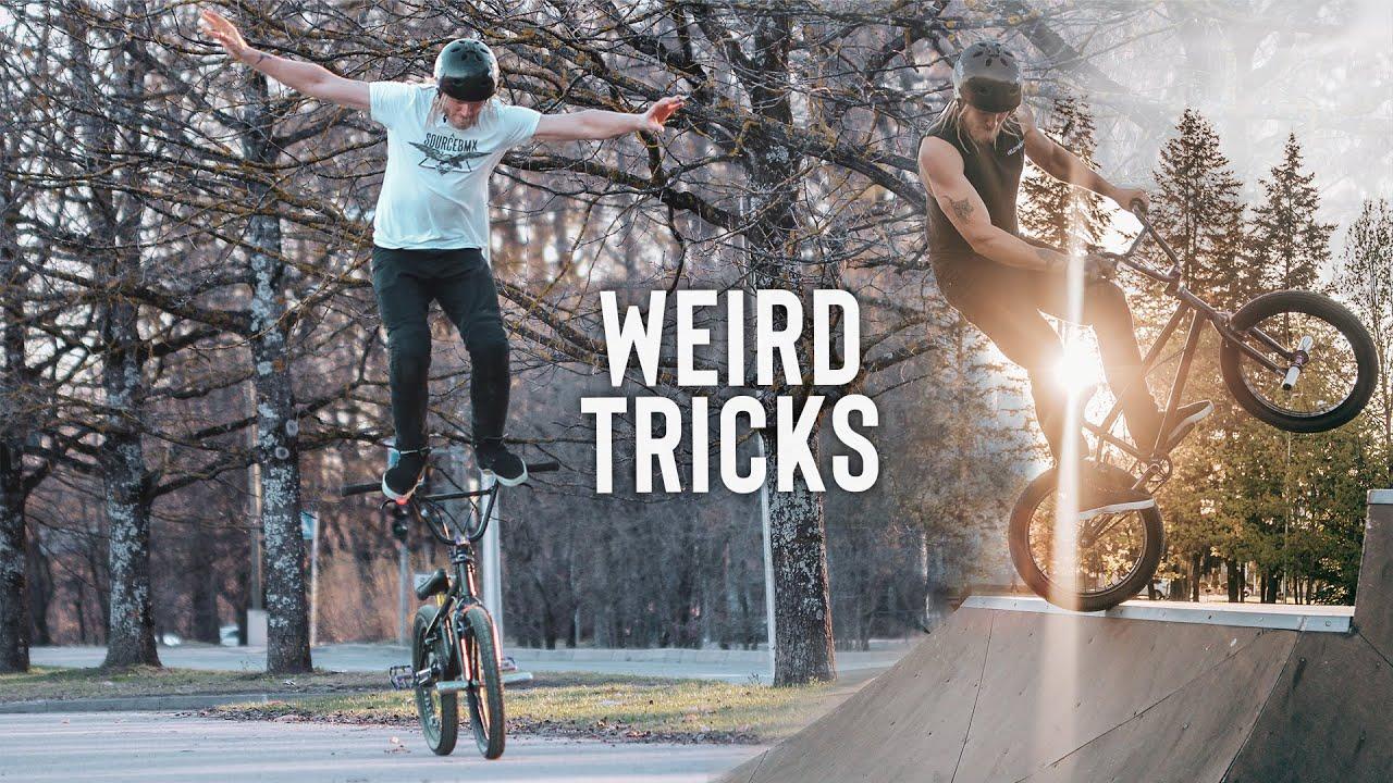 Ebatavalised BMX trikid - William Kass