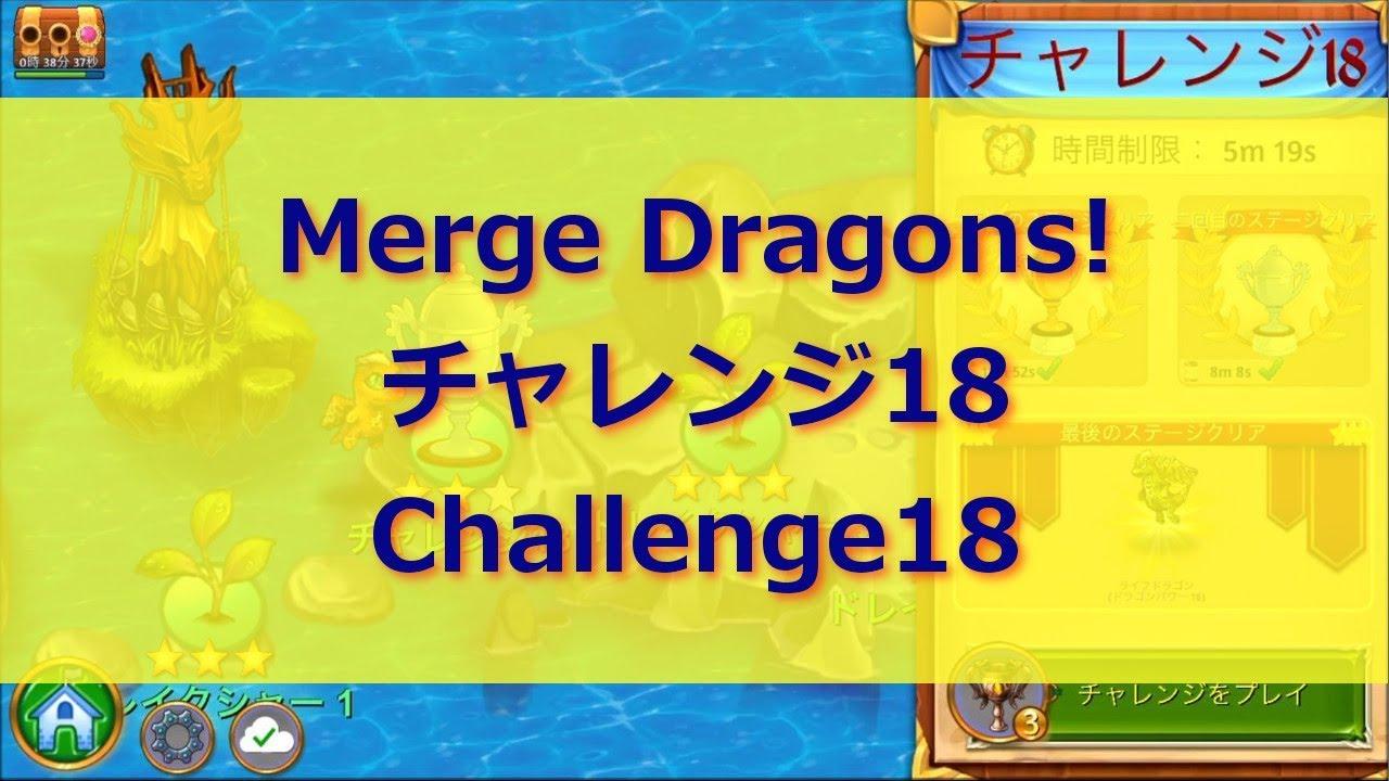 ドラゴン チャレンジ 24 マージ