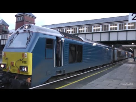 "Arriva Trains Wales Loco-Hauled ""WAG"" 