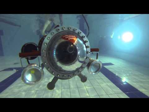 Home built underwater robot ROV in action POLAND BEST 05