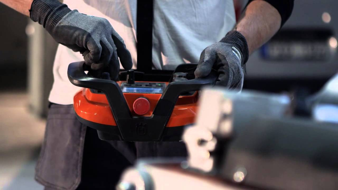 the new remote-controlled concrete floor grinder from husqvarna