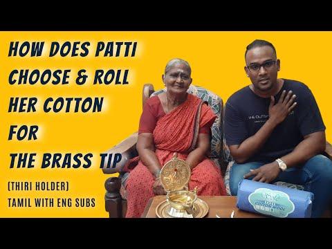 How to use Thiri Holder (The Brass Tip) for Velakku?