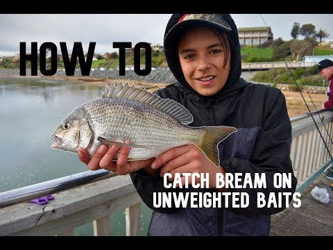 HOW TO: Catch Bream On Unweighted Baits - Onkaparinga River, SA