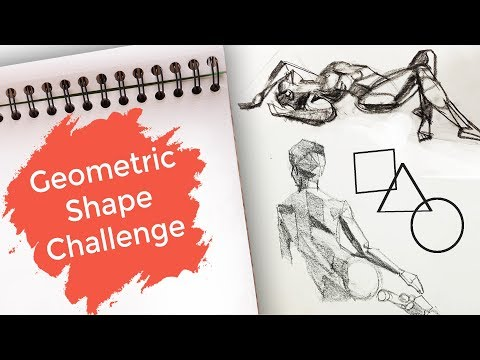 Draw Along 12 - GEOMETRIC SHAPE CHALLENGE