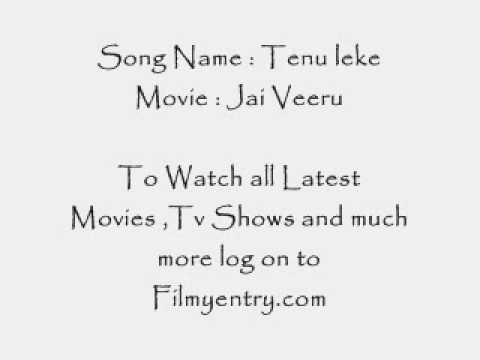 Tenu leke Full Song from New hindi movie Jai veeruflv