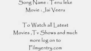 Tenu leke Full Song from New hindi movie Jai veeru.flv