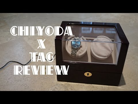 Chiyoda Automatic Double Watch Winder Review with TAG Heuer Carrera Calibre 5