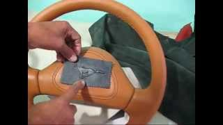 Leather Upholstery-logotypes On Leather