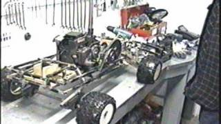 Homemade RC Chainsaw Truck