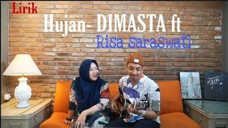"Download Mp3 Risa Saraswati Feat Dimasta ""hujan""lirik"