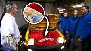 Bares unter der Motorhaube: Porsche-Sammler bekommt seinen Erlös  Der Trödeltrupp
