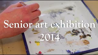 Lewis & Clark senior art exhibition 2014