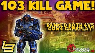 103 KILL GAME! (Gears of War 4) Multiplayer Gameplay!