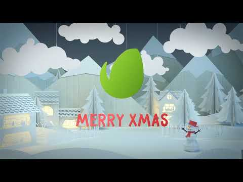 ▶CHRISTMAS CARD - AFTER EFFECTS PROJECT FILES - LOGO STINGS - 3D OBJECT