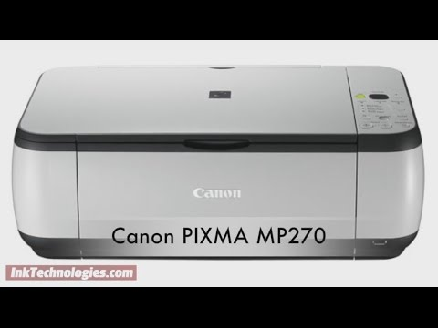 CANON MP270 SCANNER DRIVER DOWNLOAD FREE