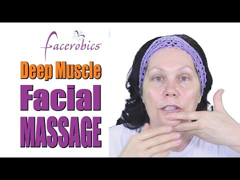 Step by Step Deep Muscle Facial Massage Routine for Younger Firmer Looking Skin | Face Massage
