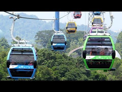 Sentosa Line Cable Car Newly Opened